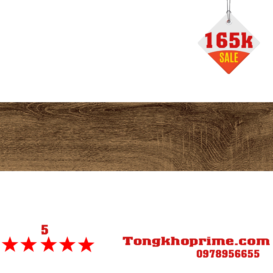 Gạch thanh gỗ Prime 15x60 9512